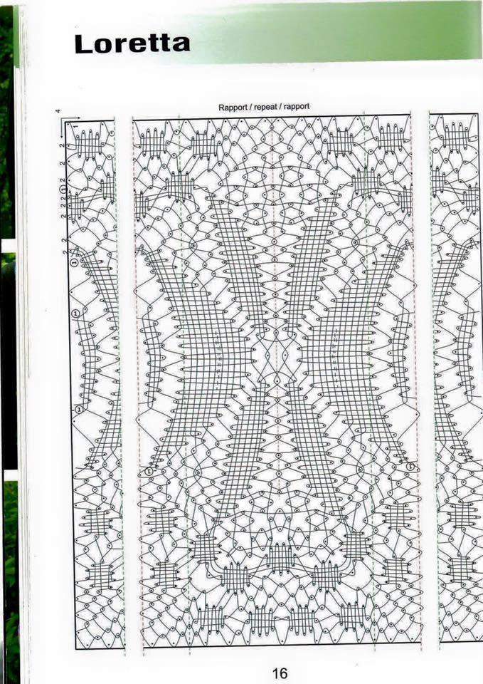 Afbeeldingsresultaat voor chal de bolillos patrones