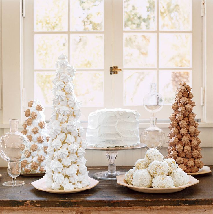 Antiques dealer and consummate host Nate Turner swaps red and green for wintery neutrals, creating elegant-organic holiday decorations and a meal to match.