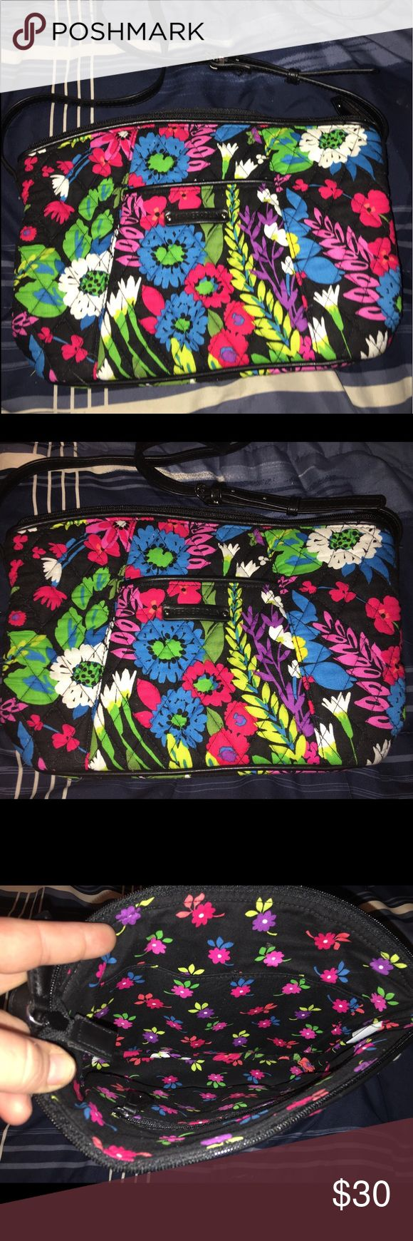 Limited edition Vera Bradley handbag! NWOT Only available through QVC I believe! Beautiful design and hard to find! Vera Bradley Bags Crossbody Bags