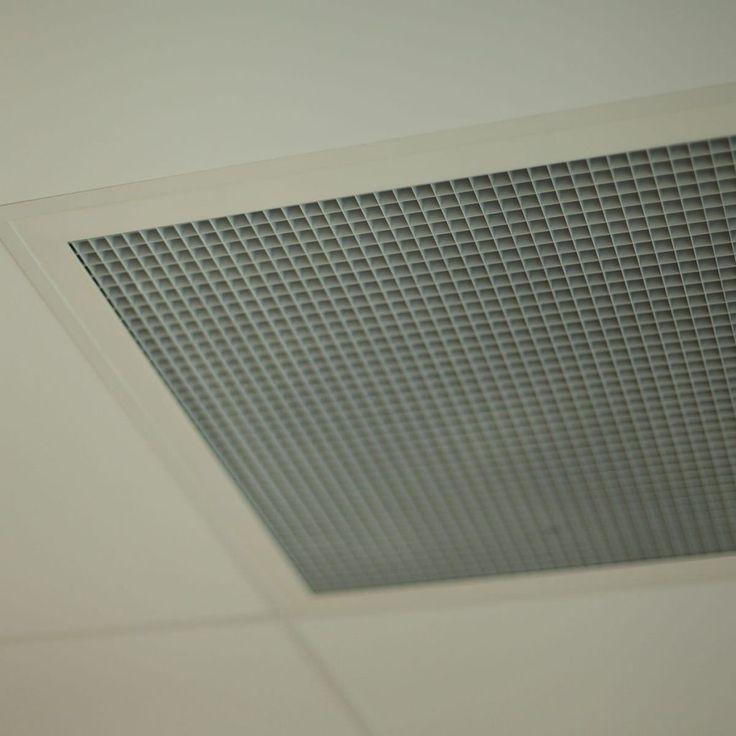 Vented Drop Ceiling Tiles