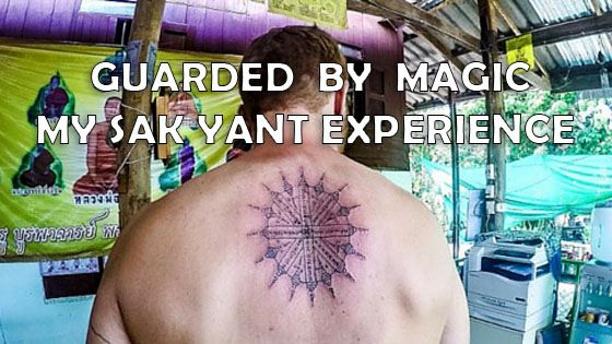 Guarded by a Sak Yant – A Buddhist Tattoo from a Monk http://www.abackpackerstale.com/travel-blog/sak-yant-blessed-tattoo-thailand/
