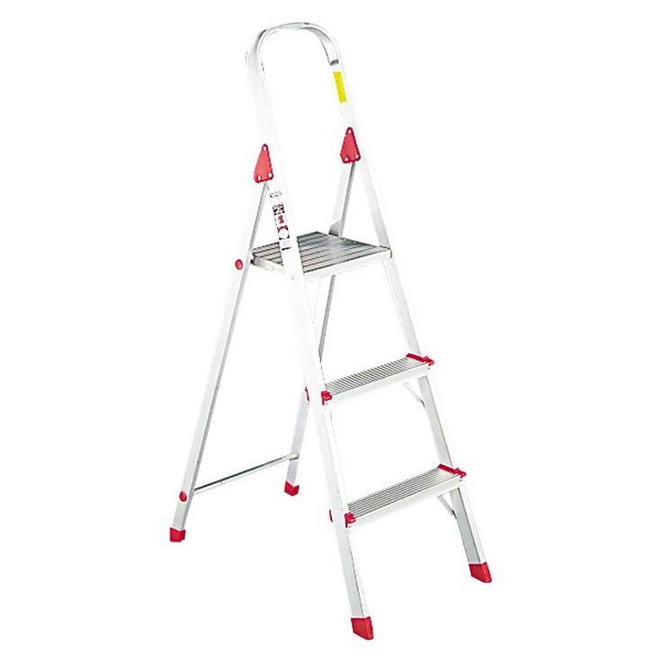 Louisville 3 ft. Aluminum Euro Platform Ladder - DADL234603