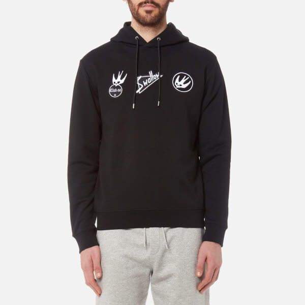 McQ Alexander McQueen Men's Big Hoody Darkest Black