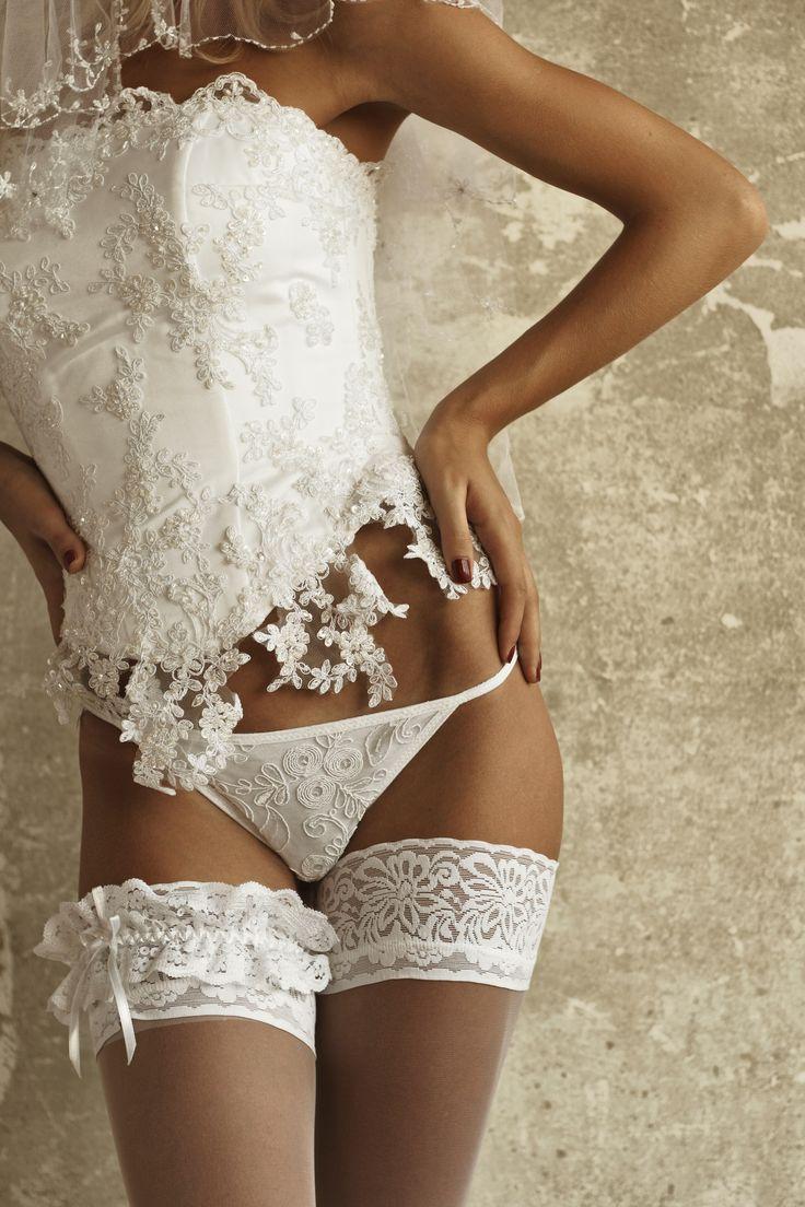 свадьба трусики белый - 13