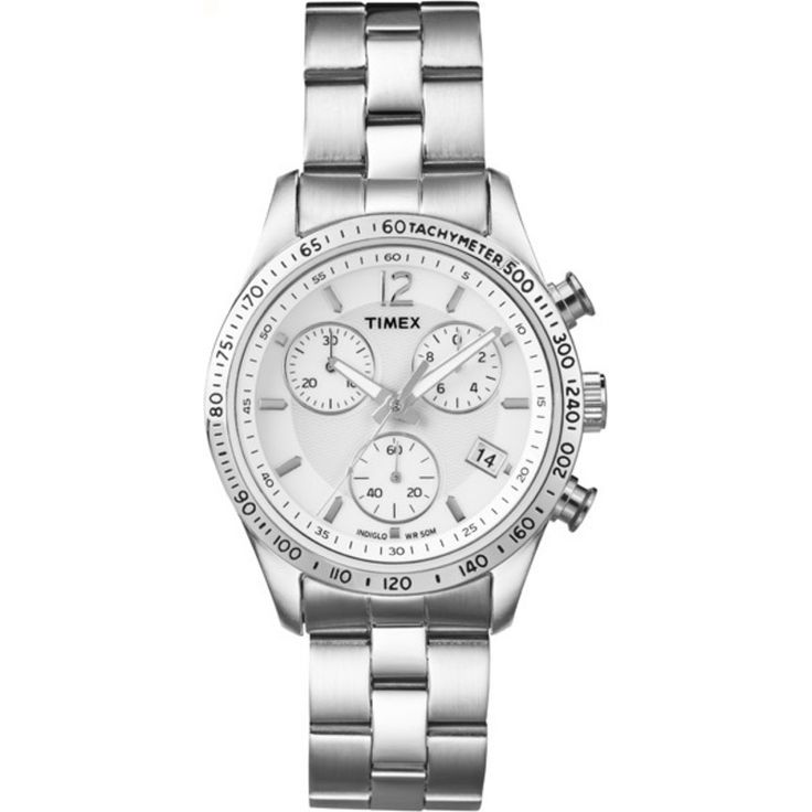 Women's Chronograph. Style and Simplicity http://goo.gl/8ggleZ