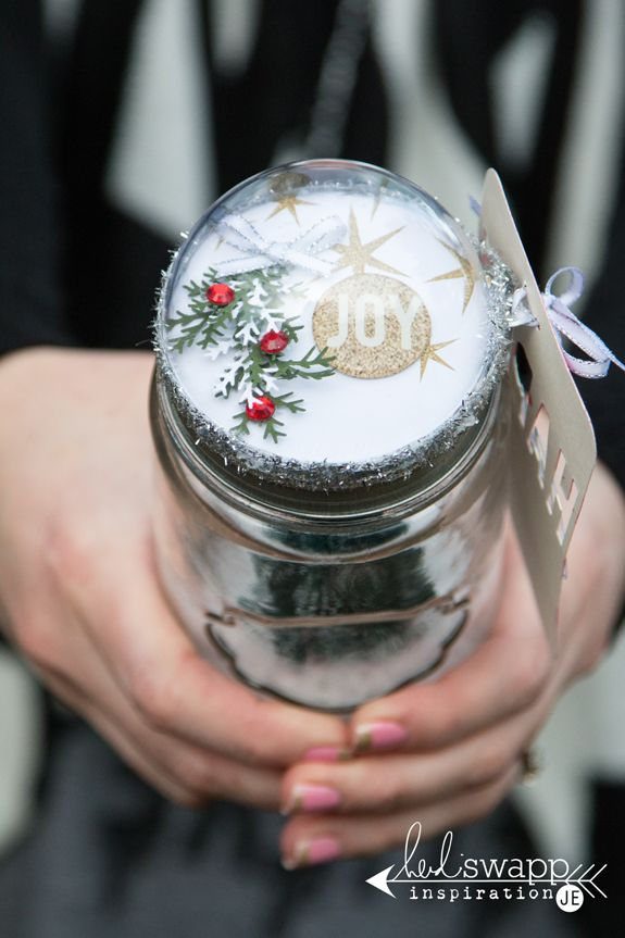 how to make snow globes with jars