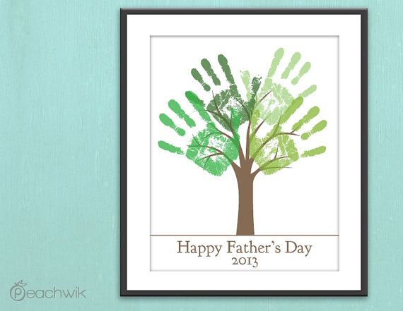 Fathers Day Last Minute Printable Gift  DIY Child's by peachwik