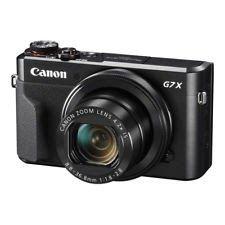 NEW Canon PowerShot G7 X Mark II 20.1MP Digital Compact Camera BLACK