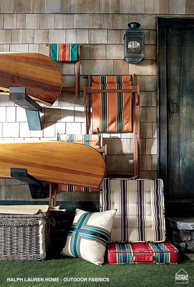 Ralphlauren: Inspired By Vintage Awning Stripes, Fun Colors Abound In  Harbor Club Outdoor Fabric Collection. Get The Collection: Here.