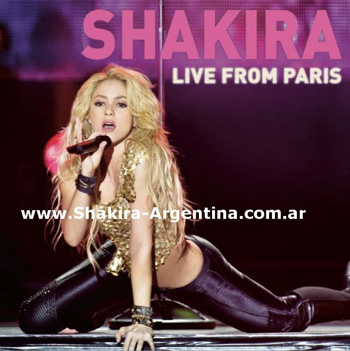 Shakira LIVE IN PARIS GIF | Shakira Live From Paris (The Sun Comes Out World Tour Dvd) - Page 7 ...