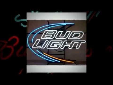 \n        Budweiser  Bud Light Neon Signs\n      - YouTube\n