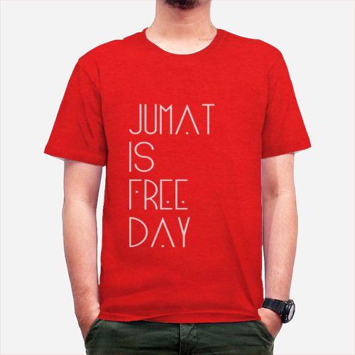 Jumat Is Free Day dari Tees.co.id oleh IDo Ikhtiar dan doa