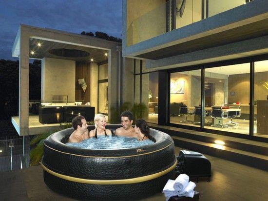 30 best spas spas gonflables images on pinterest whirlpool bathtub jacuzzi and bubble baths - Jacuzzi 6 places gonflable ...