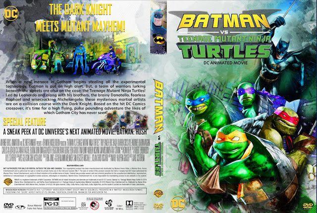 Batman Vs Teenage Mutant Ninja Turtles Dvd Cover Teenage Mutant Batman Vs Teenage Mutant Ninja Turtles