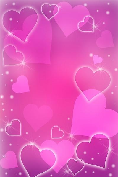 Pastel Pink Wallpaper Cute Heart Shapes Background In 2019 Heart Wallpaper
