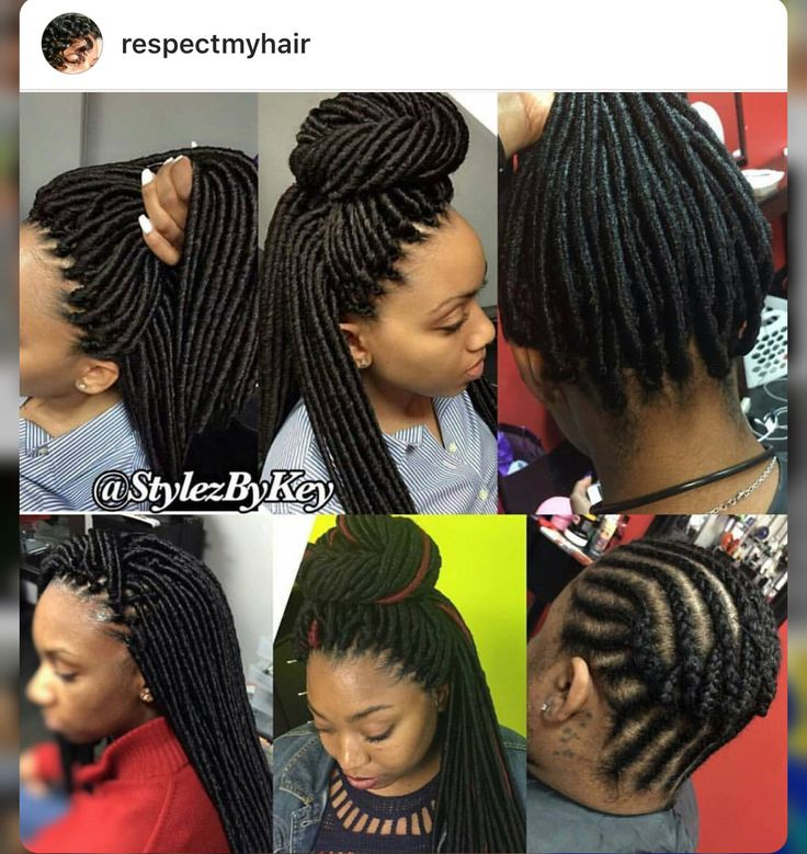 Crochet Dreads Braid Styles In 2019 Braids Hair