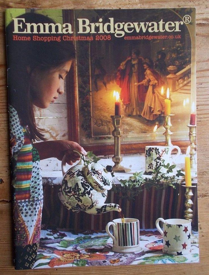 EMMA BRIDGEWATER  2008 HOME SHOPPING CHRISTMAS  CATALOGUE    eBay