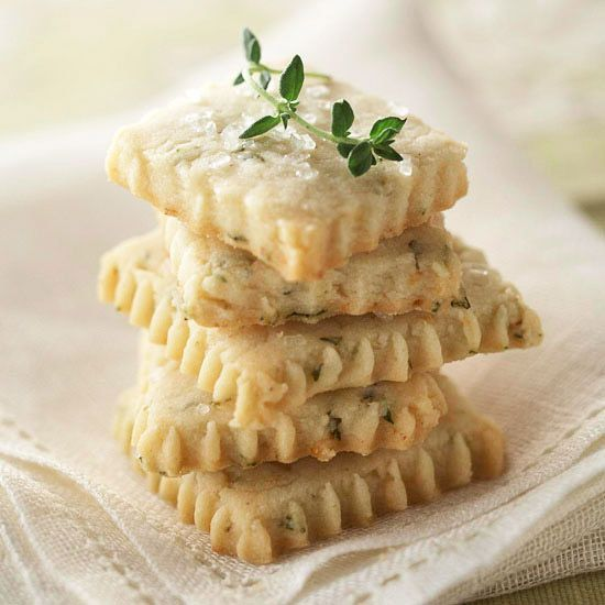 lemon thyme cookiesSpring Desserts, Garden Tips, Shortbread Cookies, Lemon Thym Cookies, Herbs Gardens, Food Recipe, Lemon Thyme Cookies, Gardens Tips, Spring Treats