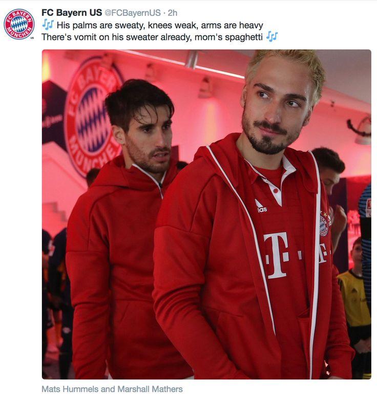 Bayern US oh my goodness...