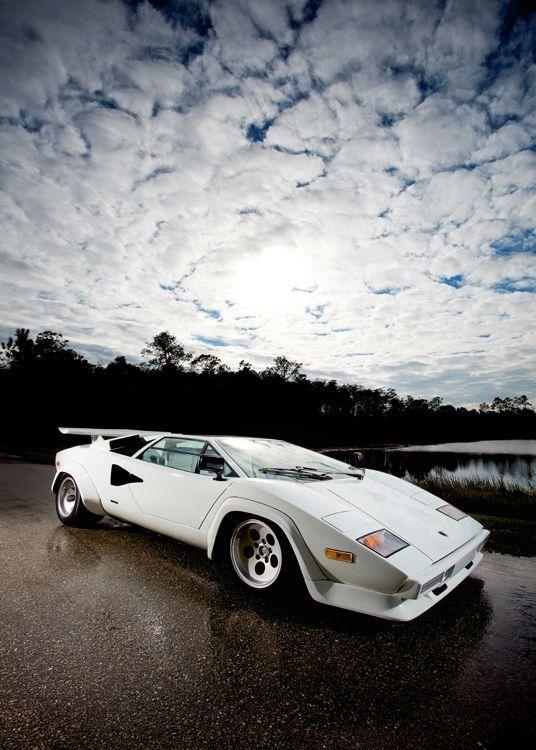 Lamborghini Countach. Still my favorite car, from the original 1974 to the last in 1990.