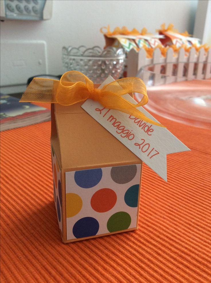 Prima Comunione: mini milk box
