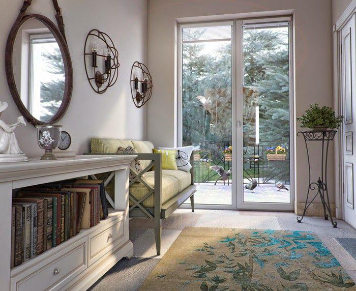 Этот стиль легко воплотить в любом помещении, независимо от размеров и планировки.