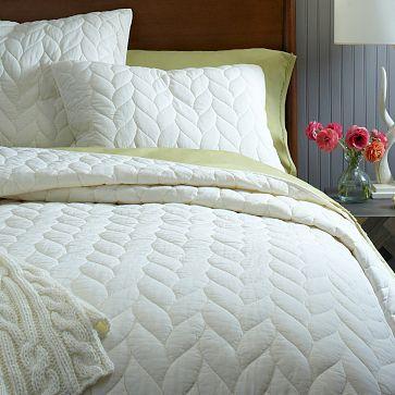 Weiße Bettwäsche, Grau Bettdecke, West Elm, Gästezimmer,  Master Schlafzimmer, Master Suite, Moderne Schlafzimmer, Im Schlafzimmer,  Schöne Zimmer