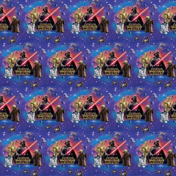 Classic Star Wars Wrapping Paper, Party Supplies - Amazon Canada