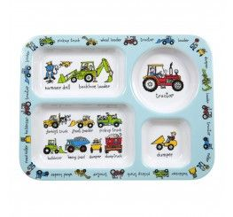 Working Wheels Kids Compartment Tray