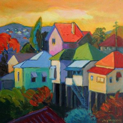 art <3 favourites #1 _ Jan Jorgensen ~ Red Hill Noon ~ divine hues