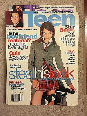 'Teen Magazine September 1997 vintage women fashion seventeen | eBay