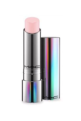MAC Tender Talk Lip Balm Not only does this iridescent tube condition, but it also uses your PH levels to give off the perfect sheer tint.