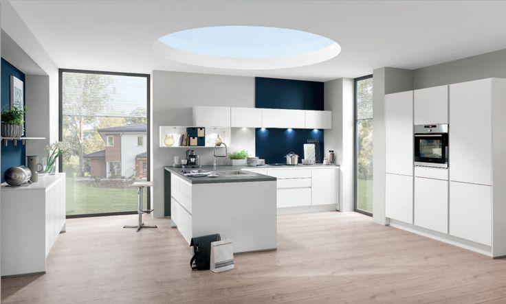 nobilia Küchen - Produkte - Küchengalerie - Weiß konyha Pinterest - nobilia küchen günstig kaufen