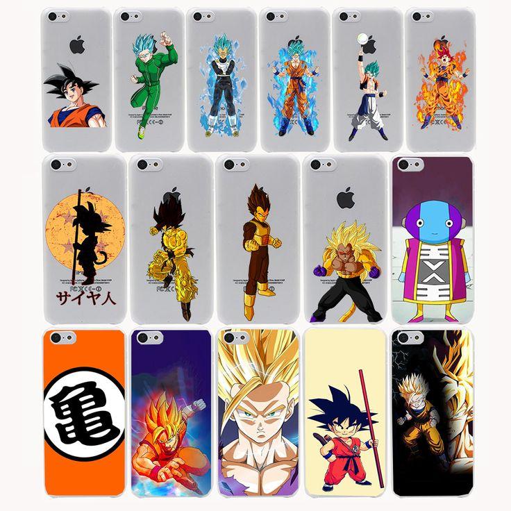 Dragon Ball Z  super sayan Hard Transparent Case Cover for iPhone 7 7 plus 4 4s 5 5s 5c SE 6 6s Plus case cover