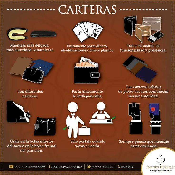 ¿Sabes qué comunica tu cartera y qué debes traer en ella? Te compartimos algunos #Imagotips al respecto.