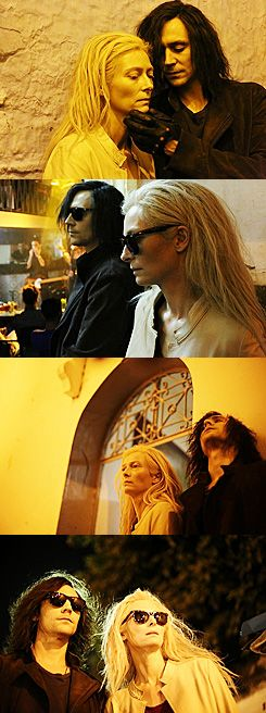 """Only lovers left alive"" by Jim Jarmusch - Tilda Swinton & Tom Hiddleston"