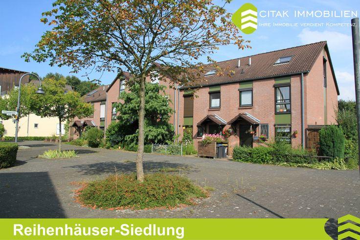 Köln-Blumenberg-Reihenhäuser-Siedlung