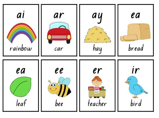 336 Blend and digraph flashcards by Little Miss Teacher.