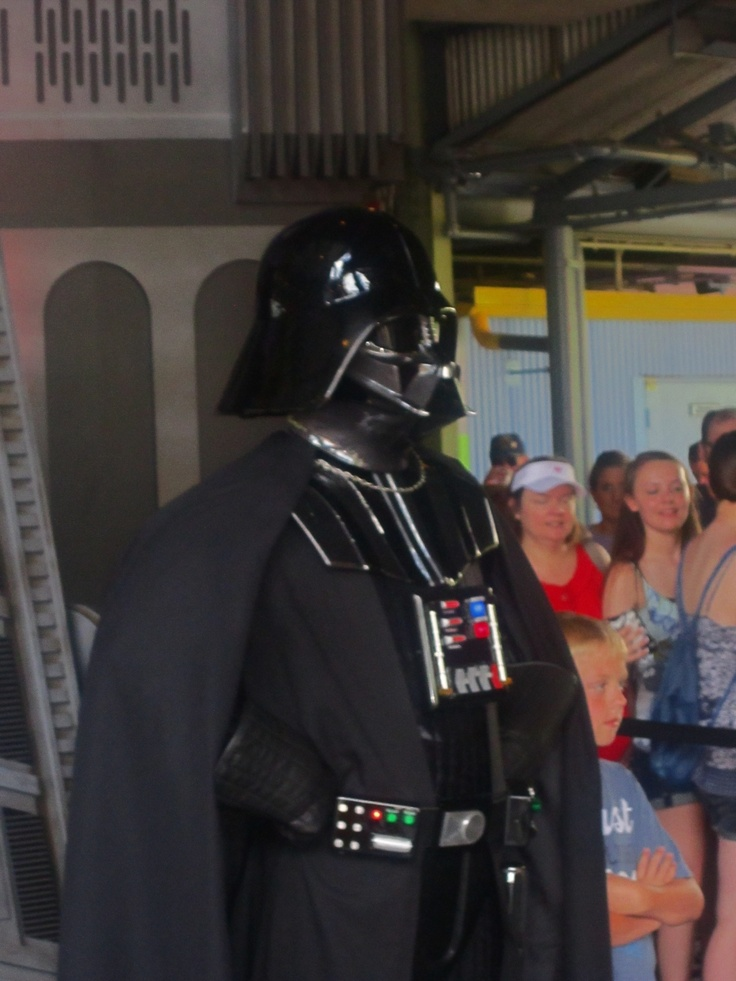 meet darth vader at hollywood studios