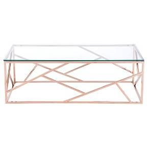Cage Coffee Table - Rose Gold - Zuo Modern