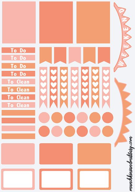 The 25 best create your own planner ideas on pinterest for Design my own planner