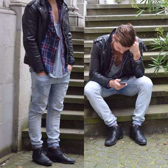 H&M Jacket, Zara Shoes, Topman Trousers