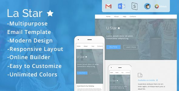 La Star - Responsive Email Template