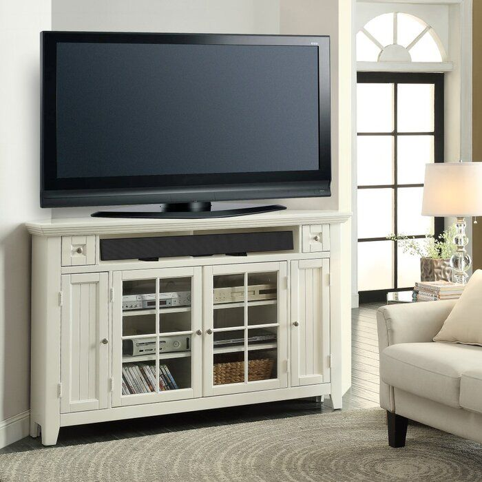 Benedetto Tv Stand For Tvs Up To 70 Corner Tv Stands Parker House White Tv Stands