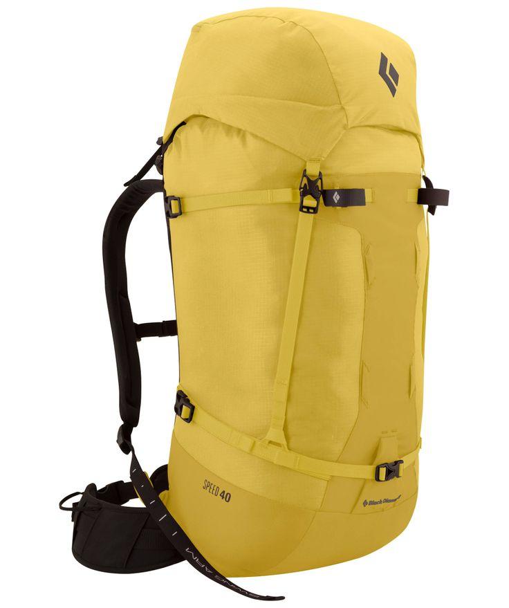 Kletterrucksack / Alpinrucksack Speed 40 #blackdiamond #backpack #hiking