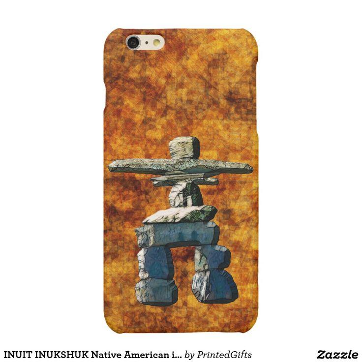 INUIT INUKSHUK Native American iPhone Cases