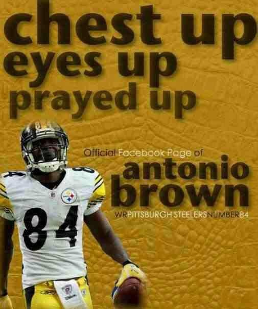 #84 Steelers  ANTONIO BROWN Discount Watches http://discountwatches.gr8.com