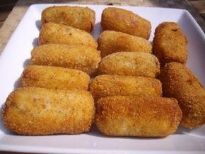 Croquetas de pollo thermomix   Receta Croquetas de pollo