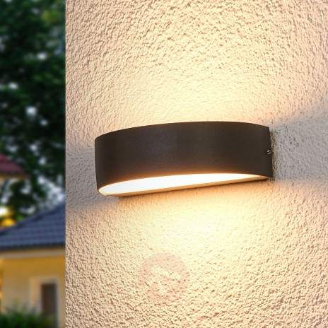 Semicircular LED Outdoor Wall Light Lissi 9969003 22