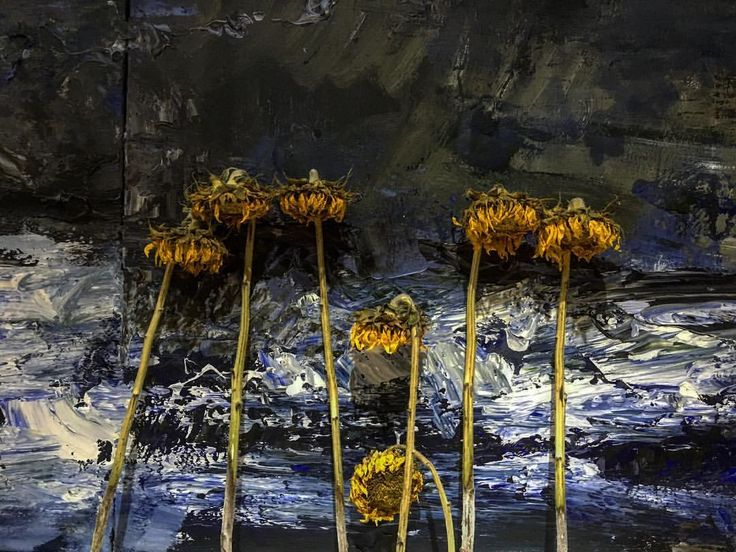 "90 aprecieri, 2 comentarii - BMR -🎨 painter (@bogdanmihairadu) pe Instagram: ""#flowers #flowerstagram #sunflowers #searching #nature #blue #yellowflowers #atelierbogdanmihairadu…"""